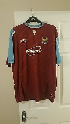 West Ham United signed shirt from 2007