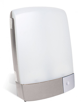 Carex Sunlite Bright Light Therapy Lamp, Silver