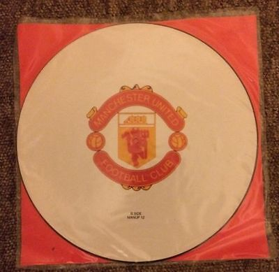 "Manchester United Football Squad -Come On You Reds - 12"" Rare Vinyl"