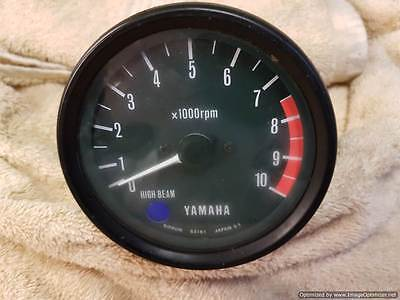 Yamaha Rd 250  Used Tacho Rev Counter Clock Dial Instrument