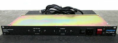 Rack Mountable Furman Power Conditioner Monitor 9-Outlet Model PM-8
