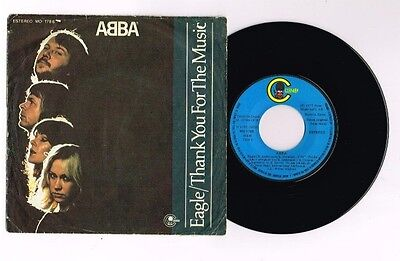 "Abba ""eagle"" Spanish  7"" Very Rare"