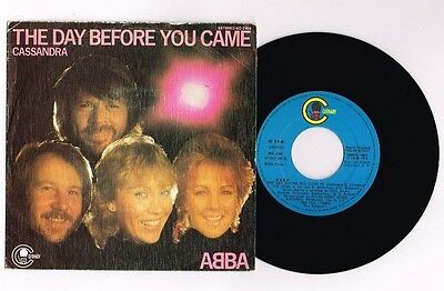 "Abba ""the Day Before You Came"" Spanish  7"" Very Rare"