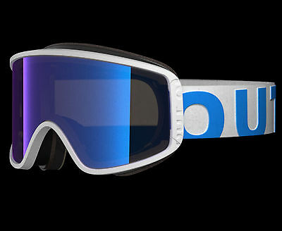 Out Of Shift Goggle White Blue Blue Mci
