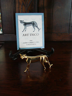 Franklin Mint**Curio Cabinet Cats**ART DECO** With Brochure 1st Series MINT