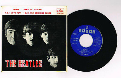 "The Beatles ""desdicha""  Spanish Ep 7"" Mega Rare"