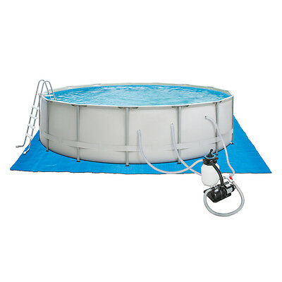 "ProSeries 16' X 48"" Metal Frame above Ground Round Swimming Pool Heavy Duty"