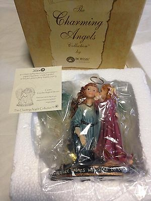 Charming Angels Collections by Boyds Carissa Guardian Angel of Secrets New
