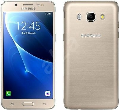 Brand New Samsung Galaxy J5 6 2016 Gold 16Gb Sm-J510Fn 4G Lte Sealed Box Unlock