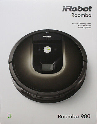 iRobot Roomba 980 Vacuum Cleaning Robot, R980020 New in Box, 110V  240 V,