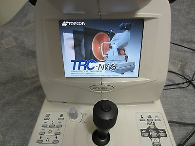 Topcon TRC-NW 8 Non-Myd Digital Camera with Imagenet s/ware and PC