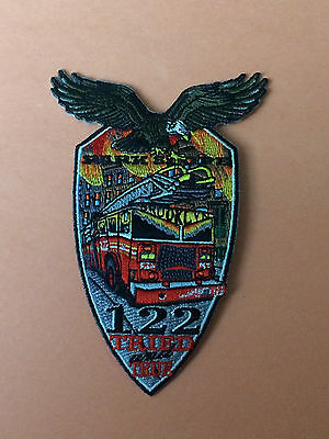"FDNY Ladder 122 ""Tried And True"" Patch."