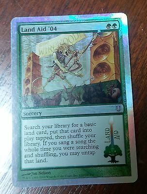 1x Foil Land Aid '04 Magic the gathering card