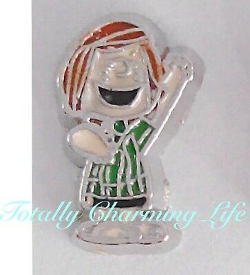 Peppermint Patty Peanuts Character Floating Charm Fits Living Memory Owl Locket