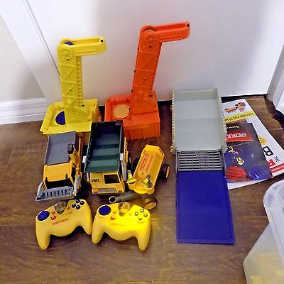 Rokenbok works construction & actions set with 2 wireless controller