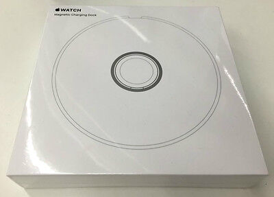 Apple Watch Magnetic Charging Dock Genuine MLDW2AM/A Luxurious White NIB SEALED