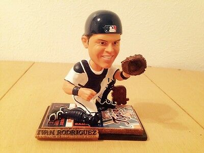 Ivan Pudge Rodriguez Forever Collectibles Limited Edition Bobblehead #'d 5000