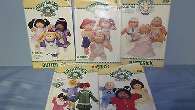 5 Cabbage Patch Patterns for Doll and Child Clothes
