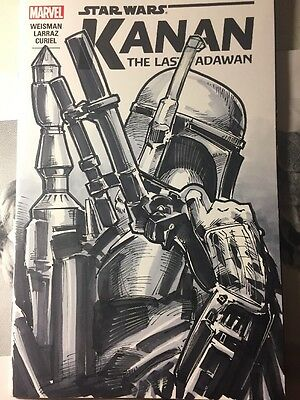 Star Wars Kanan Boba Fett Original Sketch Cover Variant Bla!!