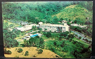 Aerial View of Mayaguez Hilton Hotel, Old Caribpix PUERTO RICO Posted PC