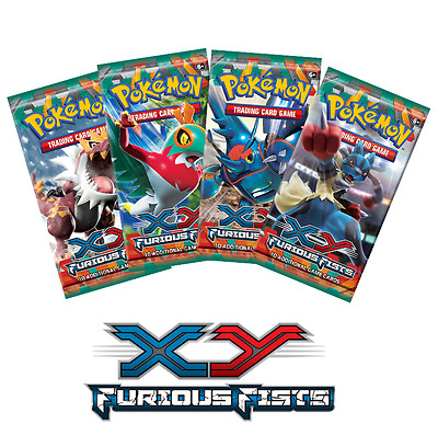 XY Furious Fists Booster Pack | Pokemon TCG | Brand New & Sealed