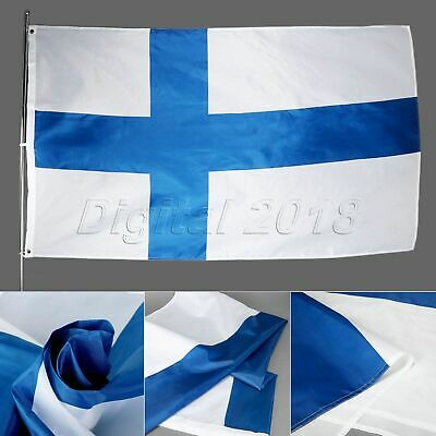 3x5 Feet Finland Flag Finnish Flags National Banner Indoor Outdoor Home Decor