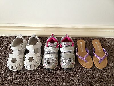 Girls size 8 shoes - Like new!