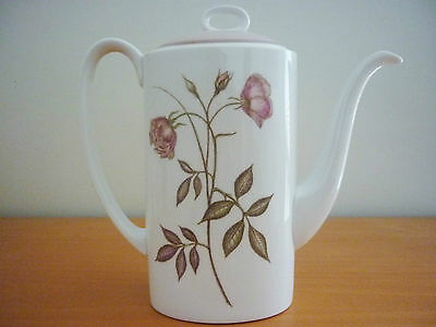 Beautiful Vintage Retro Susie Cooper Wedgwood Fine Bone China Coffee Pot W/ Lid