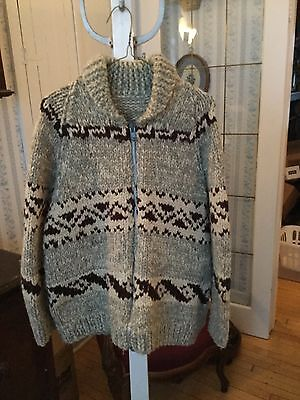 PRICE REDUCED! Iconic handmade vintage Cowichan siwash sweater