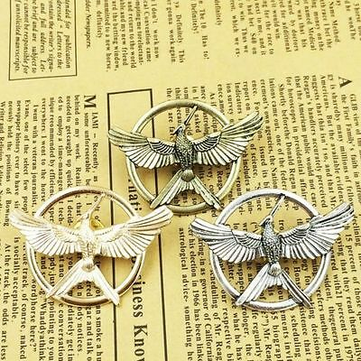 The Hunger Games Catching Fire Katniss Mockingjay Cosplay Prop Pin Brooch Badge