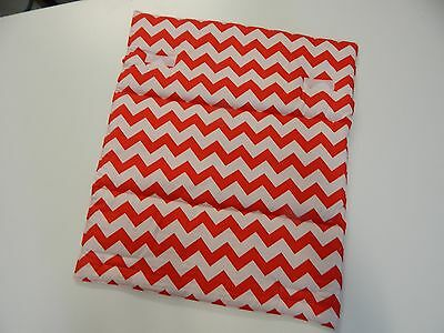 Gorgeous Change Mat Padded Chevron - Red - Great Baby Shower Gift! Easy Care