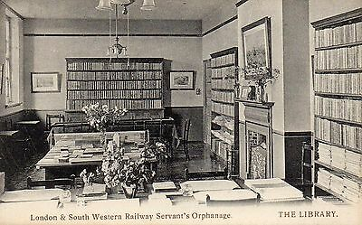PC PRINT London & South Western Railway Servant's Orphanage. THE LIBRARY. 1925.