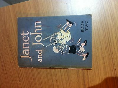 Janet and John - book two by O'Donnell and Munro 1949