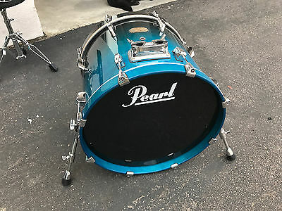 "Pearl Session Custom Maple 20"" Bass Drum - Blue Fade"