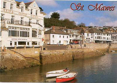 Ship & Castle Hotel - St Mawes - Cornwall - Postcard
