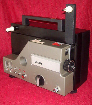 Home Movie Projector - Cinerex Sound  - 8Mm Film  - Sold As Seen - Untested