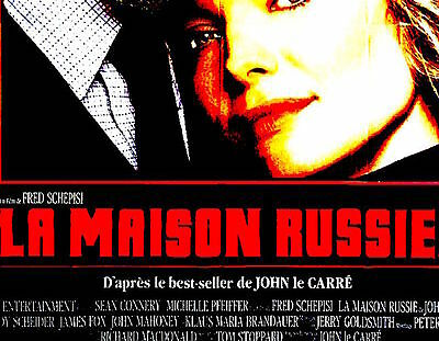 The Russia House  - Original French Import Cinema Poster - 47'' X 63''