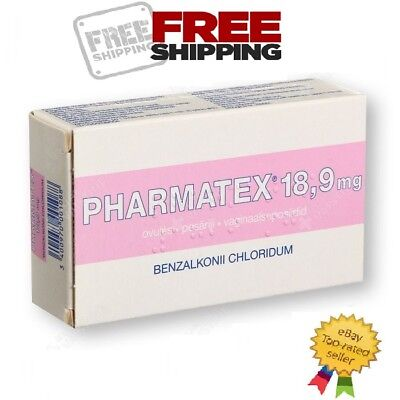 PHARMATEX 10 Vaginal Pessaries 18.9mg  To Avoid Pregnancy Vaginal Contraception