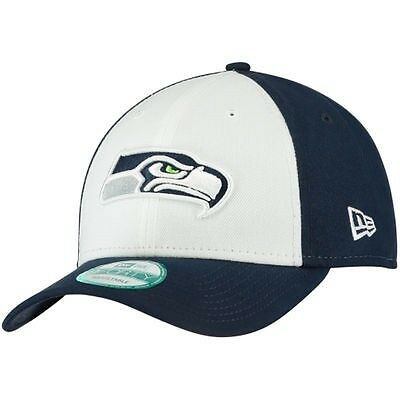 Seattle Seahawks New Era 9forty The League Adjustable Cap - White