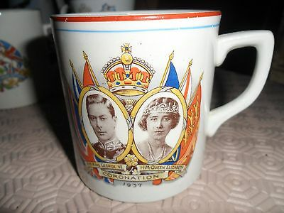 George V Silver jubilee commemmorative mug Vale China