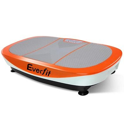 1200W Twin Motor Vibrating Plate Exercise Platform – Orange