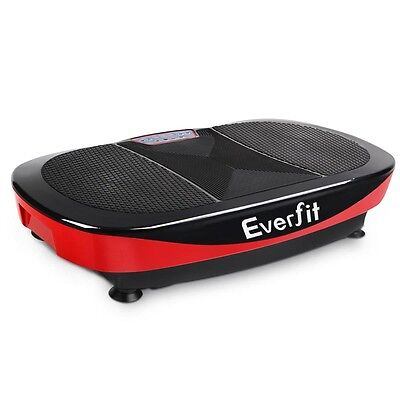 1200W Twin Motor Vibrating Plate Exercise Platform – Red