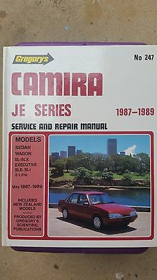 HOLDEN CAMIRA JE Series - SERVICE REPAIR MANUAL - GREGORYS.