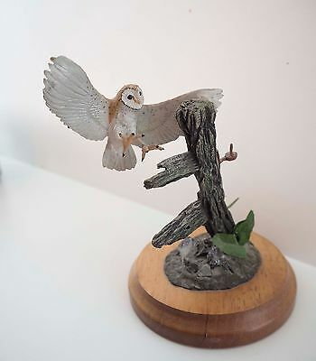 BPC Merlin Fine Arts Ltd Flying Owl Figure Ornament
