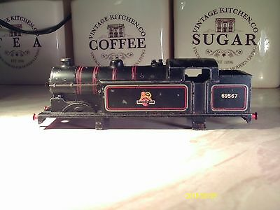 HORNBY DUBLO 0-6-2 EDL 17 body for spares & repairs used as seen quite good