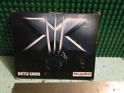 X-MEN, THE LAST STAND (battle cards) sealed trading cards. The Mail on Sunday