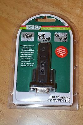 Digitus USB to Serial Adapter FTDI Chipset DB9 Serial to USB Adaptor Cable