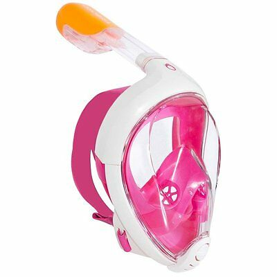 Tribord EasyBreath SNORKELLING MASK, Pink, Size XS, S/M, M/L