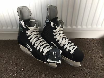 Mens Size 8 Bauer Ice Hockey Boots