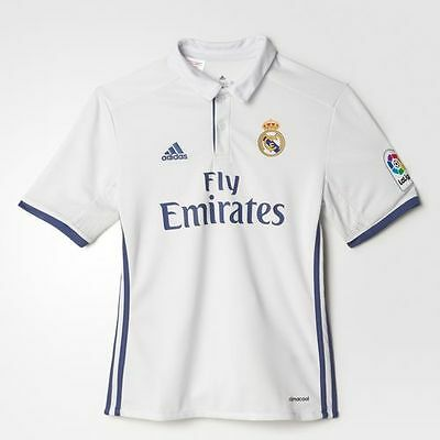 Adidas Real Madrid Official Home Shirt 2016/17 Junior Kids Sizes